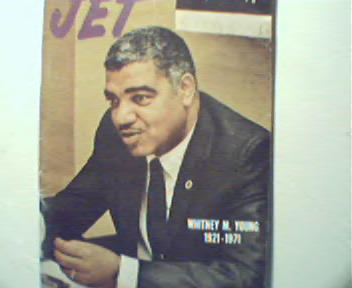 Jet-4/1/71-Whitney M Young,Delores Johnson,