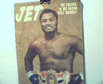 Jet-1/18/73-Joe Frazier on Cover! Muhammad Al