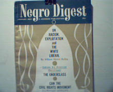 Negro Digest-1/67-Racism and White Liberals