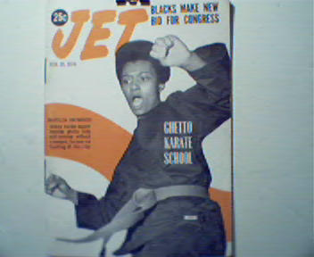 JET-2/10/70-Ghetto Karate School.Medgar Evers