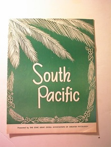 South Pacific by The Civic Light Opera,1960