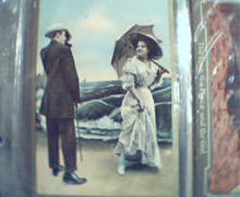 A Twentieth Century Courtship Photo Card