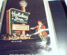 Holiday Inn Illustration Card in Color!