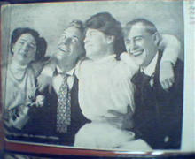 Couples Laughing on Photo  Card 1905