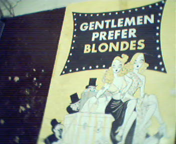 Gentleman Prefer Blondes! Hirschfeld Cover!