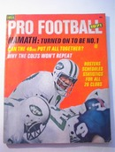 Pro Football MAgazine,1971,Joe Namath Cover