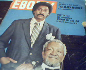 Ebony-7/72-Sex and Love,Sanford and Son!