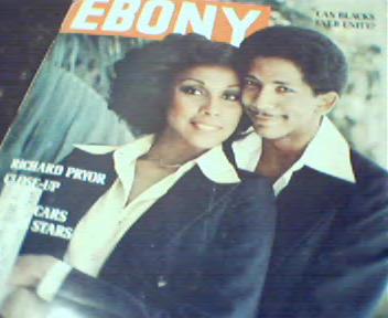 Ebony-9/76 Jack Johnson, Richard Pryor,Diahan