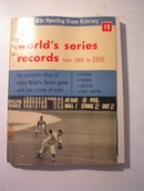 Sporting News World Series Records 1903/1956