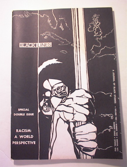 Black Lines Magazine,1971-1972 Double Issue
