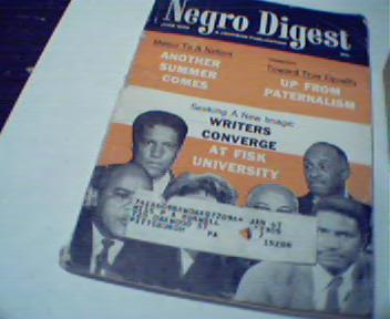 NegroDigest-6/66 Robert Hayden, Fisk Univer.