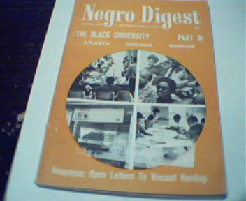 NegroDigest-3/70-Black Education,Malcom X