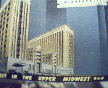 Curtis Hotel in Minneapolis Linen Card!