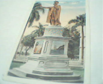 Kamehameha Statue in Honolulu!Color PhotoRep
