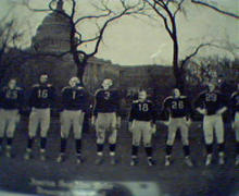 Presidents as Football Players FDR Last One!