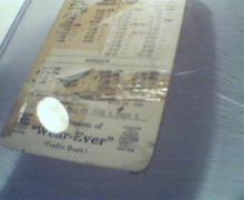Wear Ever Company Pennsylvania Time Table