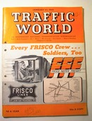 Traffic World,1/23/1943,Frisco Lines cover