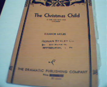 The Christmas Child by Eleanor Moles!