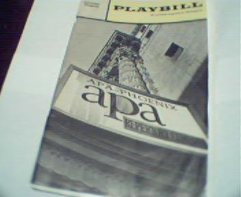 Playbill-Apa Phoenix Reperatory Company!