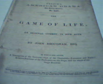 The Game of Life published by Samuel French!