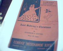 Aunt Sabriny's Christmas by E.F. Guptill!