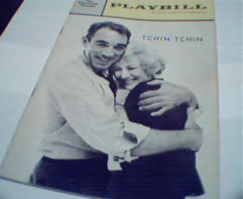 Playbill-Tchin Tchin with Anthony Quinn!