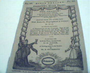 The Shadow by George Almar Esq. from 1800's!