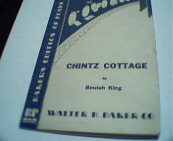 Chintz Cottage by Beulah King!