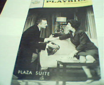 Playbill-Plaza Suite! George C Scott, 1968!