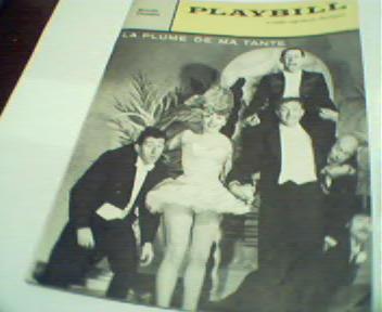 Playbill-La Plume De Ma Tante!
