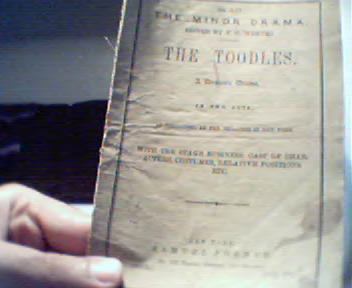 The Toodles Edited by F.C. Wemyss c1860!
