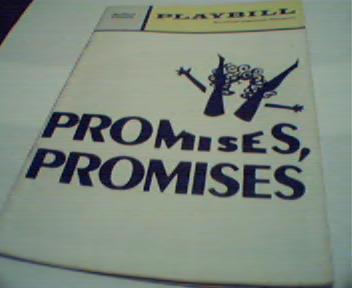 Playbill-Promises Promises Gene Rupert!