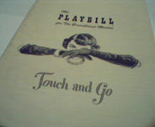 Playbill-Touch and Go with Kyle Macdonell