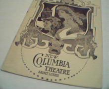 New Columbia Theatre in Saint Louis!
