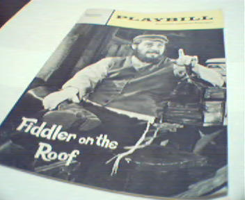 Playbill-Fiddler on the Roof-Bette Midler!