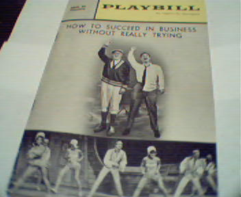 Playbill-5/64-How to Suceed in Business...!