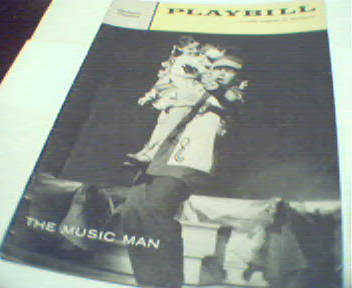 Playbill-The Music Man with Robert Preston!