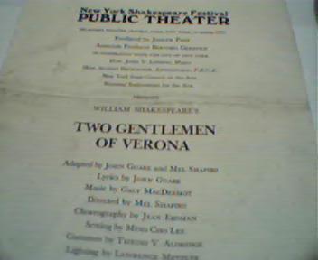 New York Shakespeare Festival Public Theatr
