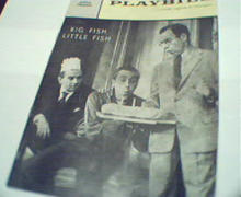Playbill-Big Fish Little Fish-JasonRobards!