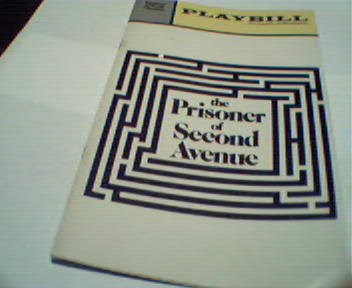 Playbill-The Prisoner of Second Avenue