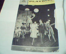 Playbill-No Strings with Diahann Carroll!