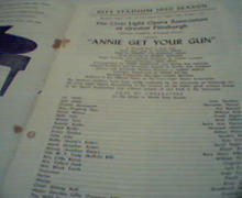 Civic Light Opera Review-Annie Get Your Gun