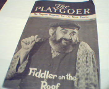 Fiddler on the Roof with Paul Lipson!