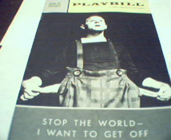 Playbill-Stop the World I Want to Get Off!