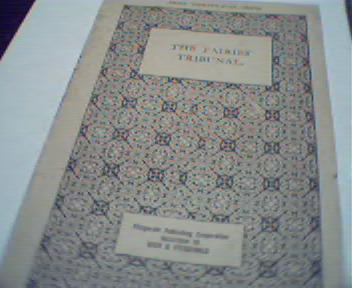 The Fairies Tribunal by Sigmund B Alexander