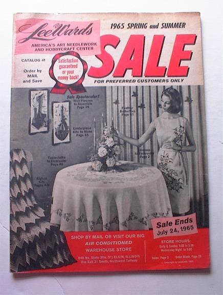 1965 LeeWards Spring and Summer Catalog No.41