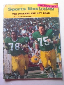 Sports Illustrated,10/1968,GREEN BAY COVER