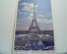 TWA Card of the Eiffel Tower!  Unused!