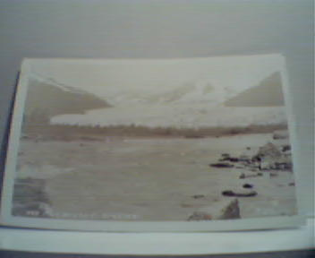 Mcndenhall Glacier Photo Card by T. Davis!