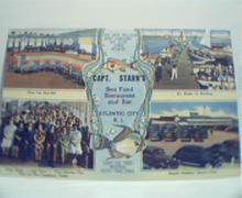 Linen Card from Captain Starins Seafood!
